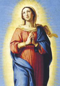 Maria è stata preservata dal peccato originale, perché piena di grazia fosse degna madre del Redentore. (foto © CHRISTIE'S IMAGES / CORBIS)