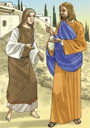 Alle parole del Signore la donna Cananea disse: «È vero, Signore, eppure i cagnolini mangiano le briciole…».