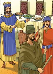 «Egli mandò i suoi servi a chiamare gli invitati alle nozze, ma questi non volevano venire. Mandò di nuovo altri servi…».
