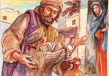 Fecero ritorno in Galilea, alla città di Nazaret. Il bambino Gesù cresceva e si fortificava, pieno di sapienza e la grazia di Dio era su di lui.