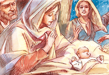 I  pastori trovarono Maria e Giuseppe e il bambino. Maria custodiva queste cose, meditandole nel suo cuore.