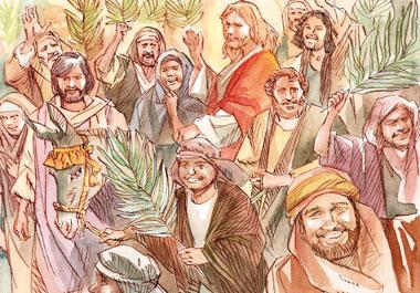 La folla gridava: «Osanna!… Benedetto il Regno che viene, del nostro padre Davide!».