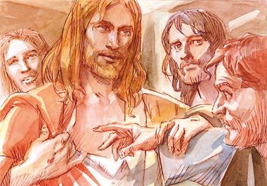«Metti qui il tuo dito, tendi la tua mano e mettila nel mio fianco; e non essere incredulo, ma credente!».