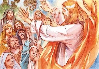 Gesù apparve agli Undici e disse loro: «Andate in tutto il mondo e proclamate il Vangelo a ogni creatura».