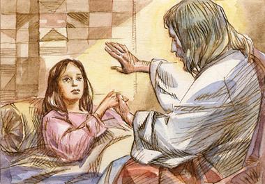 Gesù prese la mano della bambina: «Fanciulla, io ti dico: alzati!». E subito ella si alzò…