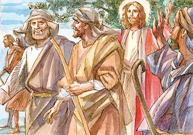 «E ordinò loro di non prendere per il viaggio nient'altro che un bastone: né pane, né sacca...».