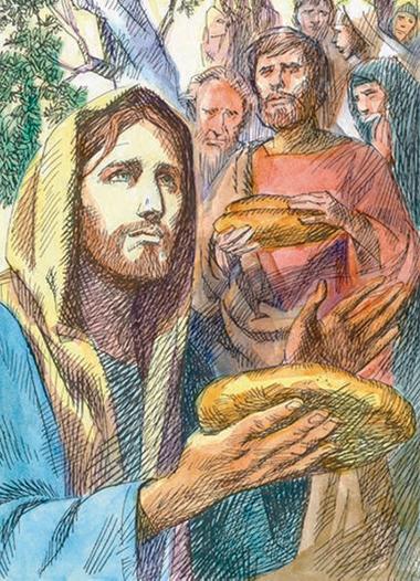 Gesù moltiplica i pani