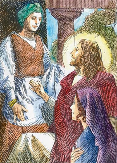 Gesù con Marta e Maria