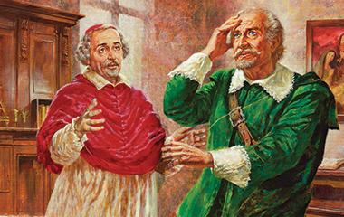 Incontro del Cardinale Borromeo con l'Innominato
