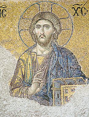 Mosaico di Gesù Cristo. Foto Murat Seyit/Istock