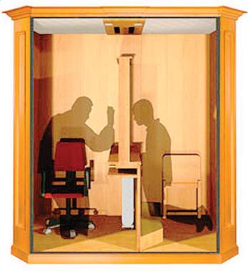 «Confessionale». Per gentile concessione. C.B.M. s.n.c. di Casagrande G. & C. via dell'Artigianato, 11- 31011 ASOLO (TV). Tel. 0423 950297.
