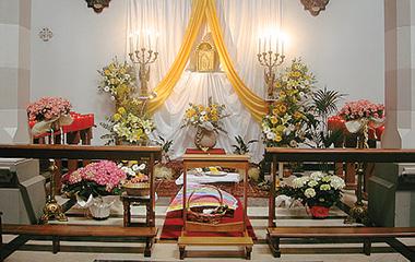 Altare della Reposizione, Parrocchia San Giuseppe al Lagaccio, Genova. Paolo Benvenuto / Wikimedia