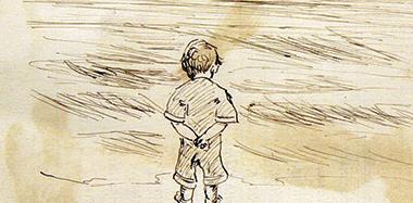«Bambino che guarda il mare», di Edward Hopper (1882-1967).